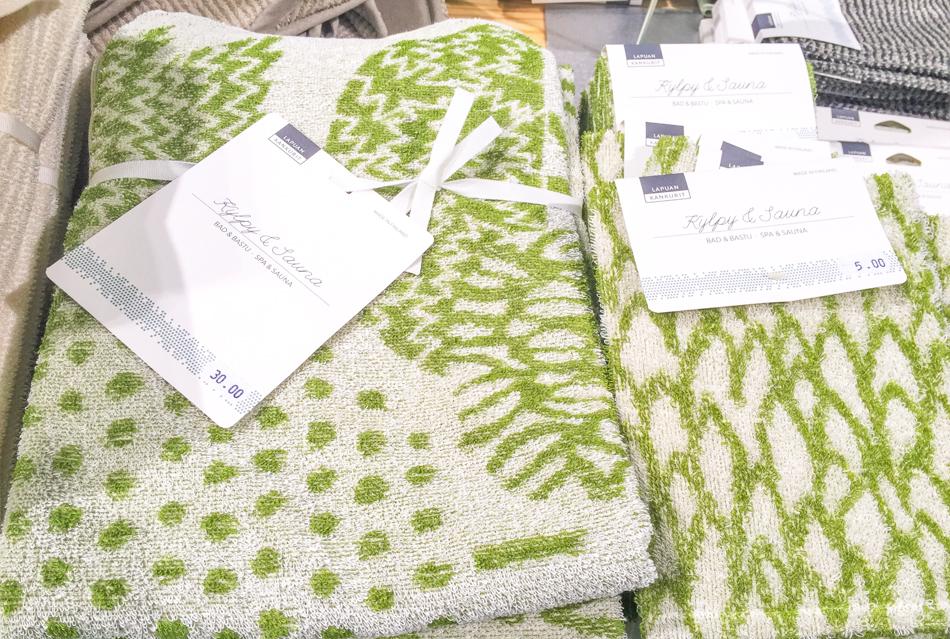 Kevätmessut - lapuan kankurit -pyyhkeet