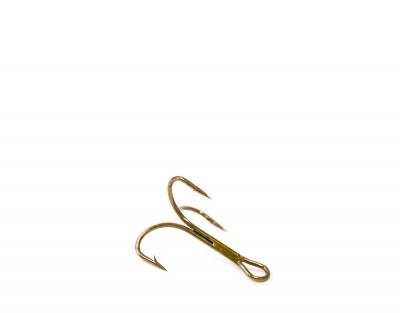 O'Shaugnessy treble, ruskea, koko 12 (pit. 12mm)