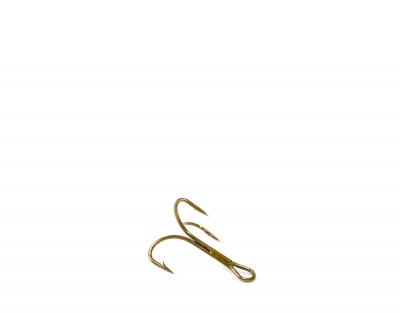 O'Shaugnessy treble, ruskea, koko 16 (pit. 9mm)