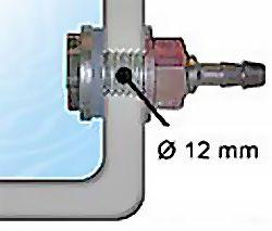 Säiliöliitin 8 mm