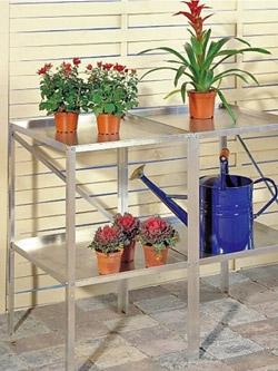 Kasvihuonepöytä, 112 x 50 cm
