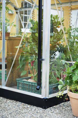 Juliana Compact 6,6 m² -kasvihuonepaketti varuste-edulla