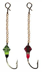 Ahti kedjekrok med färg och diamant VMC, 2 st, storlek 12