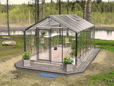 Växthus ACD Prestige 15,9 m² säkerhetsglas