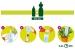 Ruukkukastelija Blumat Easy muovipulloihin, 3 kpl
