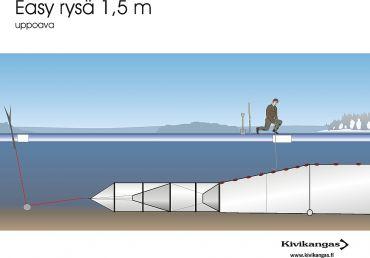 Easy ryssja 1,5 m