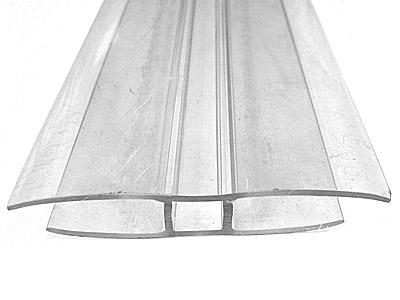 H-profiili 6 mm kennolevyyn, pituus 600 cm