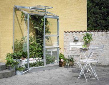 Växthus Halls Altan 0,9 m² glas