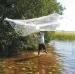 Heittoverkko 9mm säde 1,8 m lanka 210/4 valkoinen