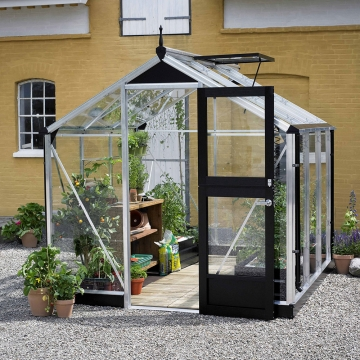 Kasvihuone Juliana Compact 5,0 m² turvalasilla