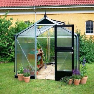 Växthus Compact 6,6 med isolerplast