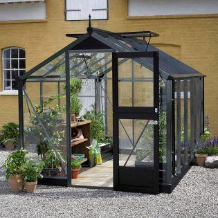 Växthus Compact 8,2 antrasit