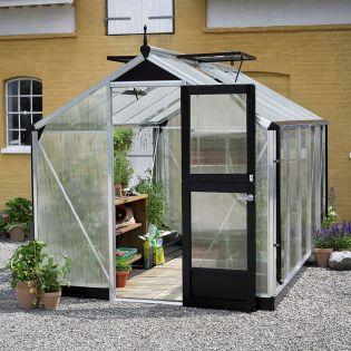 Växthus Compact 8,2 alu stomme