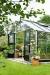 Kasvihuone Juliana Gardener 21,4 m² turvalasilla alumiini/musta väri