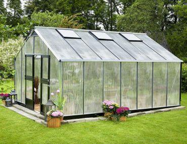 Växthus Juliana Gardener 18,8 m² 10 mm isolerplast