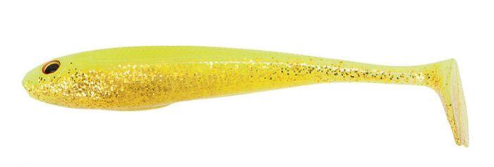 Jigi Duckfin Shad, UV Chartreuse, Daiwa