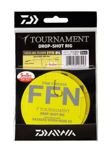 Tournament Drop Shot Rig, 2 st, Daiwa