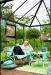 Kasvihuone Juliana Oasis 13,5 m² turvalasilla, antrasiitin harmaa