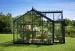 Kasvihuone Juliana Orangeri 15,2 m² 3mm turvalasilla, antrasiitti/musta väri