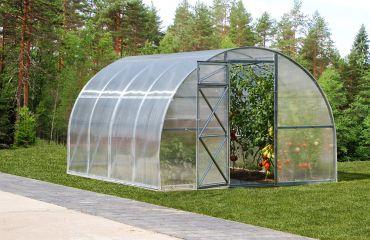 Kaarikasvihuone STRONG 12 m² 6 mm kennolevyllä