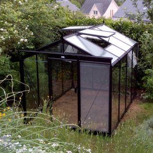 Växthus ACD Retro 7 m² säkerhetsglas