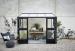 Kasvihuone Juliana Veranda 6,6 m² turvalasilla, antrasiitti/musta väri