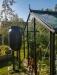 Kasvihuone Juliana Compact 8,2 m² turvalasilla, antrasiitti/musta runko
