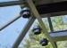 Kasvihuoneen koristevalo aurinkokennolla