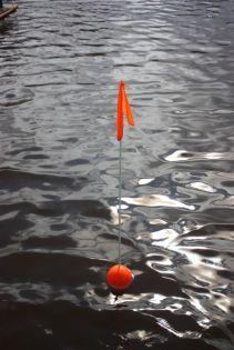 Mökki-lippumerkki 1,00 m, 2 kpl