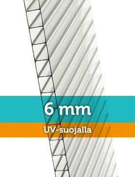 Kennolevy 6 mm, leveys 61 cm 150cm
