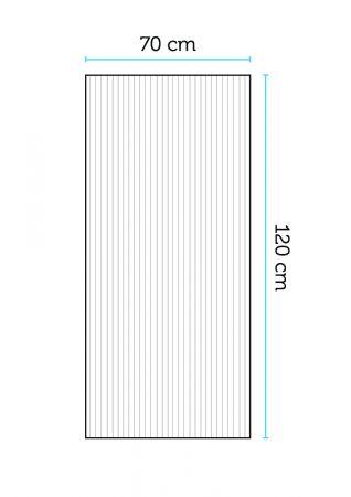 Kennolevy 6 mm, leveys 70 cm 120cm