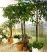 Taittuva teräslankahylly 120x40 cm, vihreä