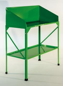 Kasvihuoneen työpöytä, 77 x 41 cm, vihreä