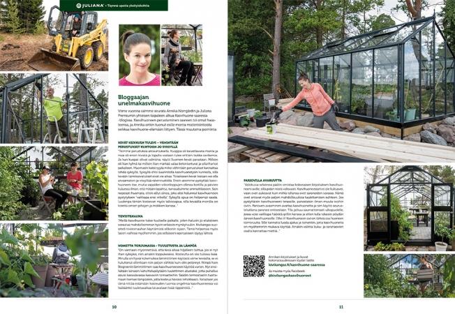 Kasvihuoneet ja tarvikkeet 2018 -kuvasto
