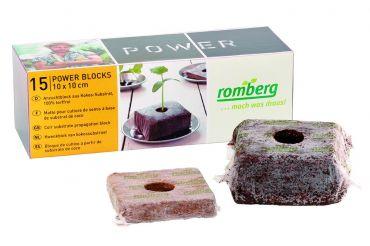 PowerBlocks kookoskuitukuutiot 15 kpl, Romberg