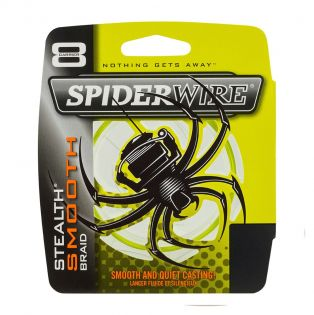 Fiberlina Spiderwire Stealth Smooth 8, gul