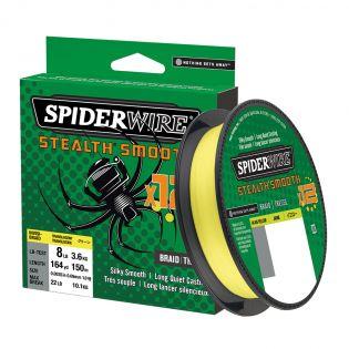 Fiberlina Spiderwire Stealth Smooth x12, 150 m, gul