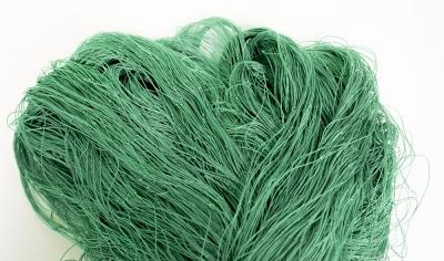 Pietarin Verkkoliina vihreä 70mm 4,0m lanka 210/6  pituus 60m