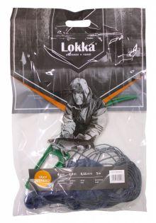 Lokka-nät för betesfisk 9mm 1,0m garn 0,15 / 5m