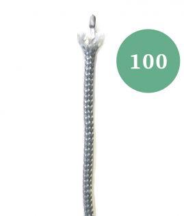 Alapaula nro 100, 1/2 monofil harmaa