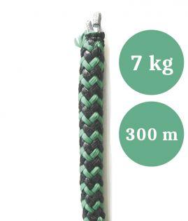 Lyijyköysi, rysän ja nuotan alapaulaksi, paino 7,00 kg/100 m, pituus 300 m (ltk)