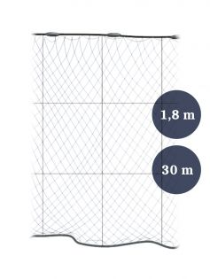 Grimnät 80mm x 1,8/3,0x210/2 längd 30m, Pietari dubbelteln