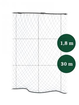 Riimuverkko 90mm x 1,8/3,0 IronSilk pituus 30m, Pietarin kaksoispaula