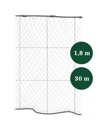 Riimuverkko 100mm x 1,8/3,0 IronSilk pituus 30m, Pietarin kaksoispaula