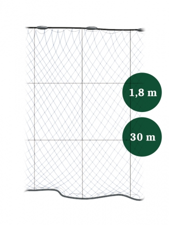 Riimuverkko 50mm x 1,8/3,0 IronSilk pituus 30m, Pietarin kaksoispaula