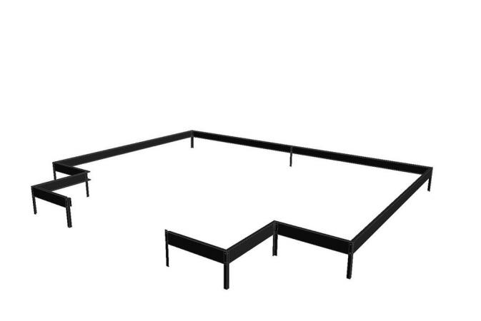 Juliana Orangeri musta terässokkeli