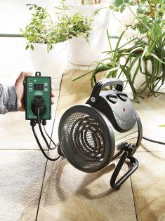 LÄMPÖPUHALLIN BioGreen Palma Digital 2,0 kW