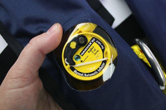 Paukkuliivi Sigma 170N painelaukaisimella, Lalizas