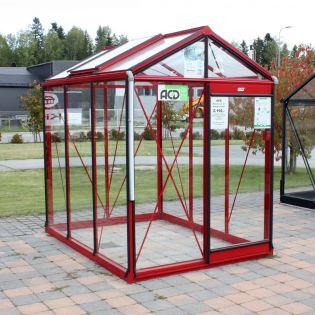 -37% MALLIHUONE ACD Piccolo 3,6 m² 4mm turvalasi, punainen