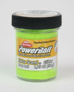 Konstbete Berkley PowerBait, Glitter, Chartreuse, 50 g